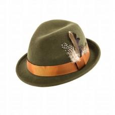 Poľovnícky klobúk s pierkom
