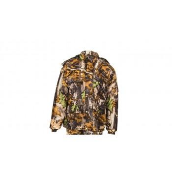 Teplá zimná bunda Letný vzor tmavý