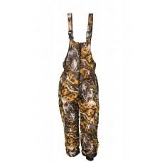 Teplé zimné nohavice Letný vzor tmavý