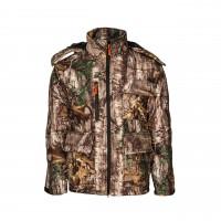 Zimná kamuflážna bunda Jesenný vzor