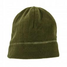 Zelená fleecová čiapka