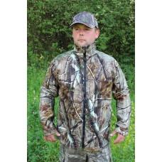 Nepremokavá sofschelová bunda Jesenný vzor