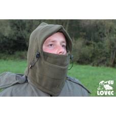 Fleecová maska Zelená