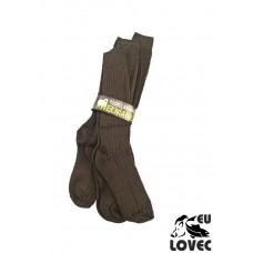 Ponožky-podkolienky z ovčej vlny