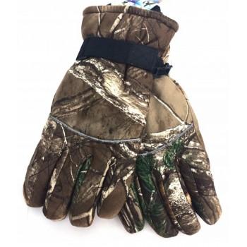 Zimné rukavice Jesenný vzor