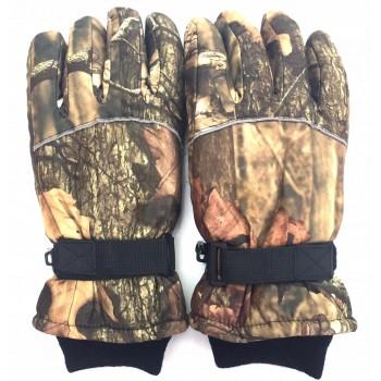 Zimné rukavice Lesný vzor