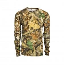 Tričko s dlhým rukávom Lesný vzor
