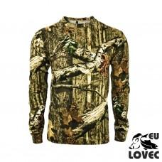 Tričko s dlhým rukávom Letný vzor