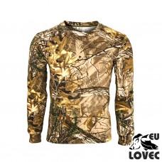 Tričko s dlhým rukávom Jesenný vzor