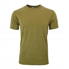 Tričko s krátkym rukávom Olivovo zelené