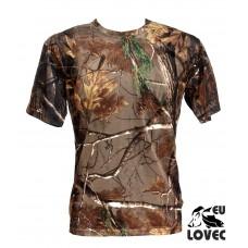 Tričko s krátkym rukávom Jesenný vzor