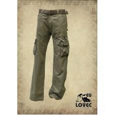 Poľovnícke nohavice zelené + opasok zdarma!!!